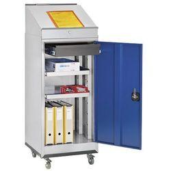 Quipo Pulpit - zestaw kombi, składa się z szafki na narzędzia, pulpitu do pisania i po