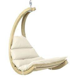 Drewniany fotel hamakowy, ecru Swing Chair