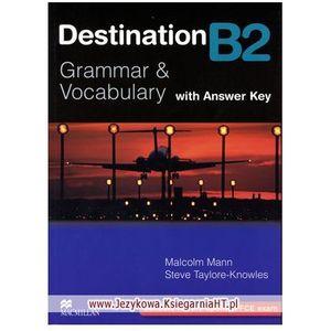 Destination B2 Grammar & Vocabulary Książka (z Kluczem), Macmillan