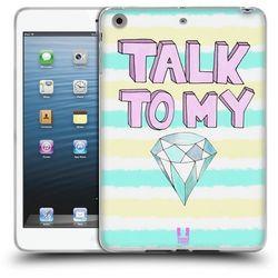 Head case Etui silikonowe na tablet - diamond glam talk to my diamond