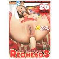 The Worlds Most Hardcore Redheads - DVD 5 Pack