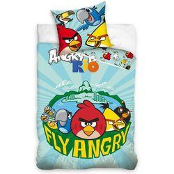 Tip Trade Dziecięca pościel bawełniana Angry Birds Fly, 140 x 200 cm, 70 x 80 cm - produkt z kategorii- Komplety pościeli dla dzieci