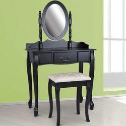 Elegancka toaletka kosmetyczna z taboretem /05 marki Jago