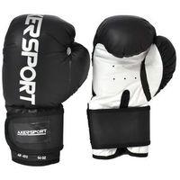 Rękawice bokserskie AXER SPORT A1341 Czarno-Biały (8 oz) (5901780913410)