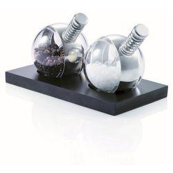 - planet - zestaw młynków do soli i pieprzu (wymiary: 15 x 8 x 8 cm) marki Xd design