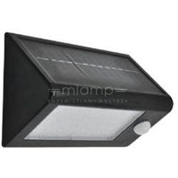 Solarna LAMPA zewnętrzna BOX 307637 Polux elewacyjna LAMPA ogrodowa LED 5,5W z czujnikiem zmierzchowo ruchowy