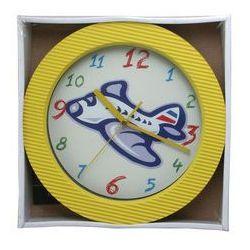 Zegar ścienny kolor samolot, ATE98105X