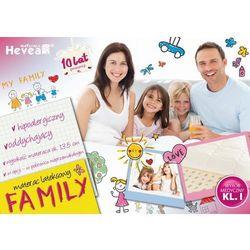 Hevea Materac lateksowy family + poduszka 45/45 gratis!