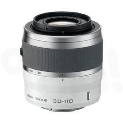 Nikon  1 nikkor vr 30-110 mm f/3,8-5,6 (biały) - produkt w magazynie - szybka wysyłka!, kategoria: obiektywy
