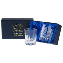 Royal Scot Crystal Szklanki London do Whisky 210ml 2szt.