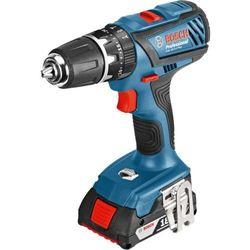 akumulatorowa wiertarko-wkrętarka udarowa gsb 18-2-li plus (06019e7120) marki Bosch professional