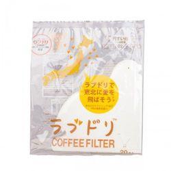 Hario Zestaw filtrów papierowych do dripa love dori loveripper v60-02 vcfl-02-20w (4977642726314)