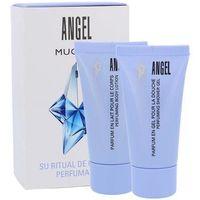 Thierry mugler  angel w kosmetyki zestaw kosmetyków 30ml balsam + 30ml żel pod prysznic