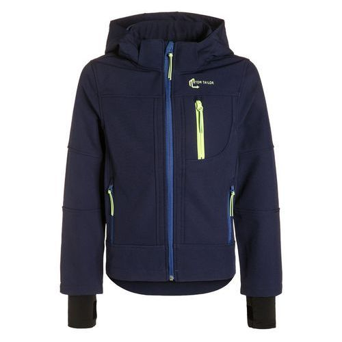 Tom Tailor Kurtka Softshell true dark blue od Zalando.pl