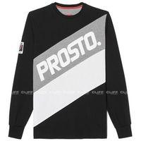 Koszulka z długim rękawem  calf cant black, Prosto, S-XL