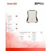 Silicon power Armor a30 1tb usb 3.0 white / pancerny / wstrząsoodporny (4712702631227)