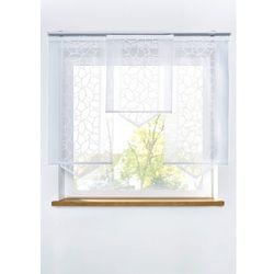 Bonprix Zasłona panelowa żakardowa (1 szt.) biały