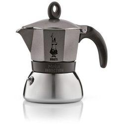 Bialetti kawiarka moka induction anthracite 3 filiżanki