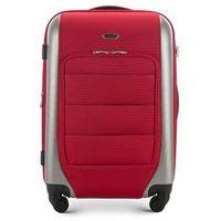 Wittchen Średnia walizka  56 3-892 czerwono-szara - czerwono-szary (56389230)
