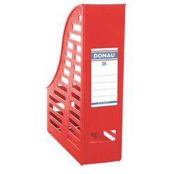 Pojemnik ażurowy na dokumenty , pp, a4, składany, czerwony marki Donau