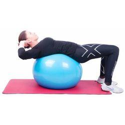 Piłka fitness Top Ball z pompką 75cm Insportline - niebieski