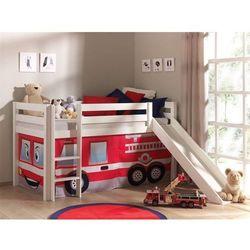 Tekstylia do wysokiego łóżka pino - straż pożarna marki Vipack