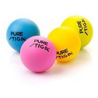Piłeczka tenis stołowy Stiga Pure color 4 szt.