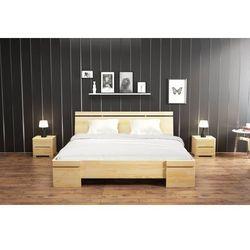Łóżko drewniane sosnowe sparta maxi & long 90-200x220 marki Skandica