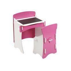 blush biurko z krzesełkiem marki Kidsaw
