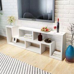 Szafki pod tv w kształcie l białe 2 szt. marki Vidaxl