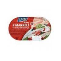 Makrela filet w sosie pomidorowym 90g marki Łosoś