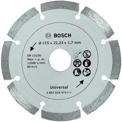 Tarcza diamentowa, segmentowa TS Bosch, 115 mm - sprawdź w Conrad.pl