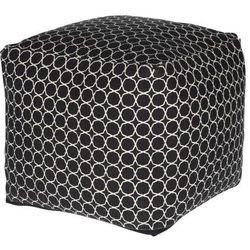 Pufa 40x40 Mone czarna, kolor czarny