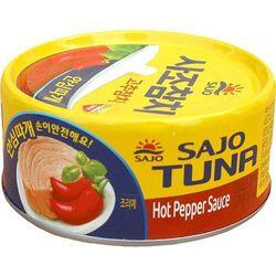 SAJO 150g Tuńczyk kawałki w ostrym sosie paprykowym | DARMOWA DOSTAWA OD 200 ZŁ - produkt z kategorii- Kons