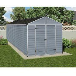 Palram Domek narzędziowy  skylight 8x20 szary - transport gratis!, kategoria: altany i domki ogrodowe