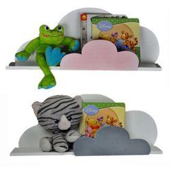 Dziecięca półka ścienna chmurka delkis - 10 kolorów marki Producent: elior
