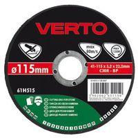 Tarcza do cięcia  61h515 115 x 3.2 x 22.2 mm do kamienia marki Verto