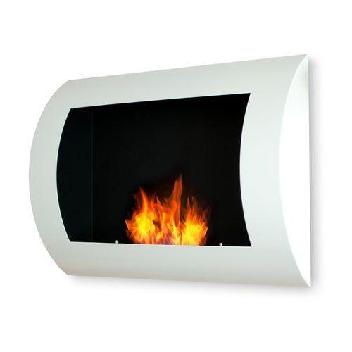 Biokominek dekoracyjny 60x45 cm biały Convex by EcoFire (biokominek)