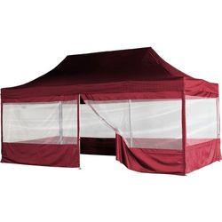 Bordowy ekspresowy pawilon ogrodowy namiot handlowy 3x6 m marki Instent