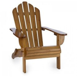 Blumfeldt vermont krzesło ogrodowe w stylu adirondack 73 x 88 x 94 cm składany b