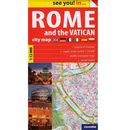 Rome and the Vatican plan miasta 1:12 000 (2 str.)