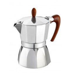 Kawiarka gat magnifica 3 tz srebrno-brązowy marki G.a.t