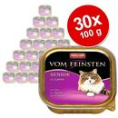 vom feinsten senior cat smak: jagnięcina 32x100g marki Animonda