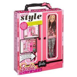 Barbie Garderoba Szafa- Walizka BMB99, Mattel z HUGO Akcesoria gsm , Nawigacje