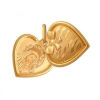 Rodium Złoty medalik - 38541 - pr.585 (5900025385418)