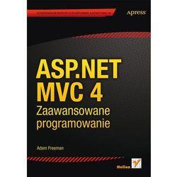 ASP NET MVC 4 ZAAWANSOWANE PROGRAMOWANIE, książka w oprawie miękkej