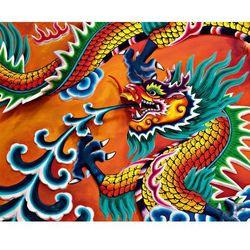 Fototapeta dragon 905 marki Idealdecor