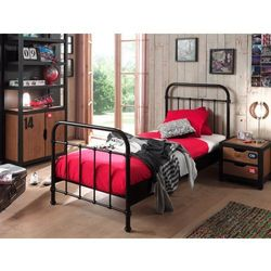 Metalowe łóżko New York NYBE9018 dla dziecka