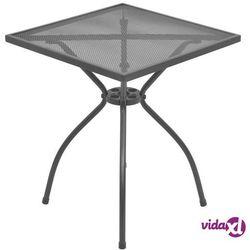 stolik bistro, 60x60x70 cm, stalowa siatka marki Vidaxl