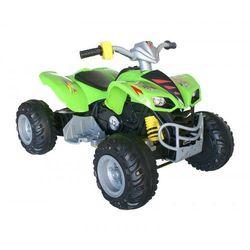 OGROMNY QUAD TURBO 12V zielony - produkt z kategorii- Pojazdy elektryczne